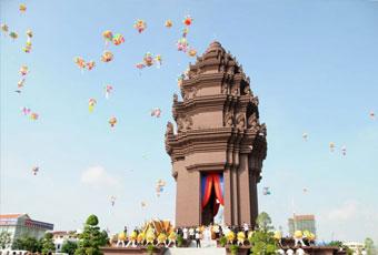 吳哥窟獨立紀念碑