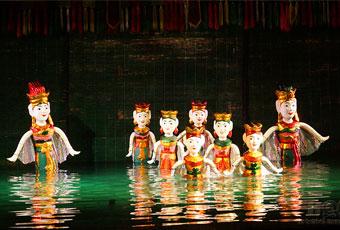 越南國寶級水上木偶戲