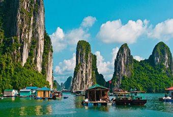 越南下龍灣海上桂林
