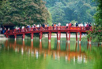 越南還劍湖Hoan Kiem Lake