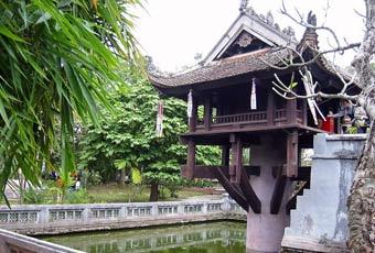越南一柱廟