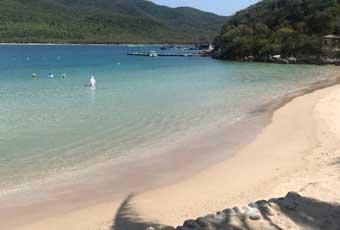 越南山水沙灘