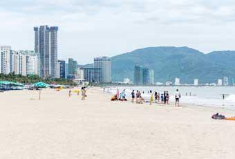 越南美溪沙灘