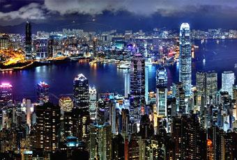 香港太平山纜車