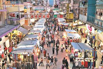香港花園街(波鞋街)
