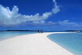 帛琉長沙灘島