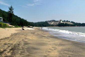 澳門黑沙環海灘
