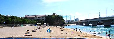 沖繩波之上神宮、波之上海灘