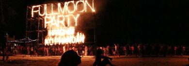 蘇梅島帕安島-滿月派對FULL MOON PARTY