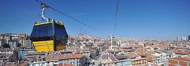 土耳其安卡拉市景~搭纜車