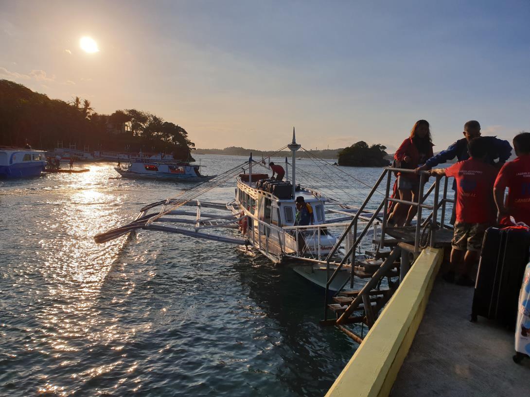 長灘島螃蟹船