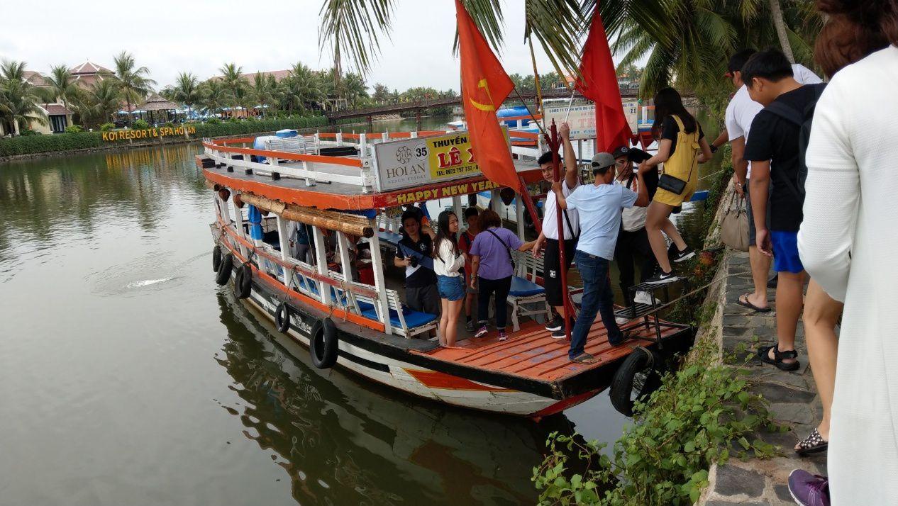 迦南島搭船
