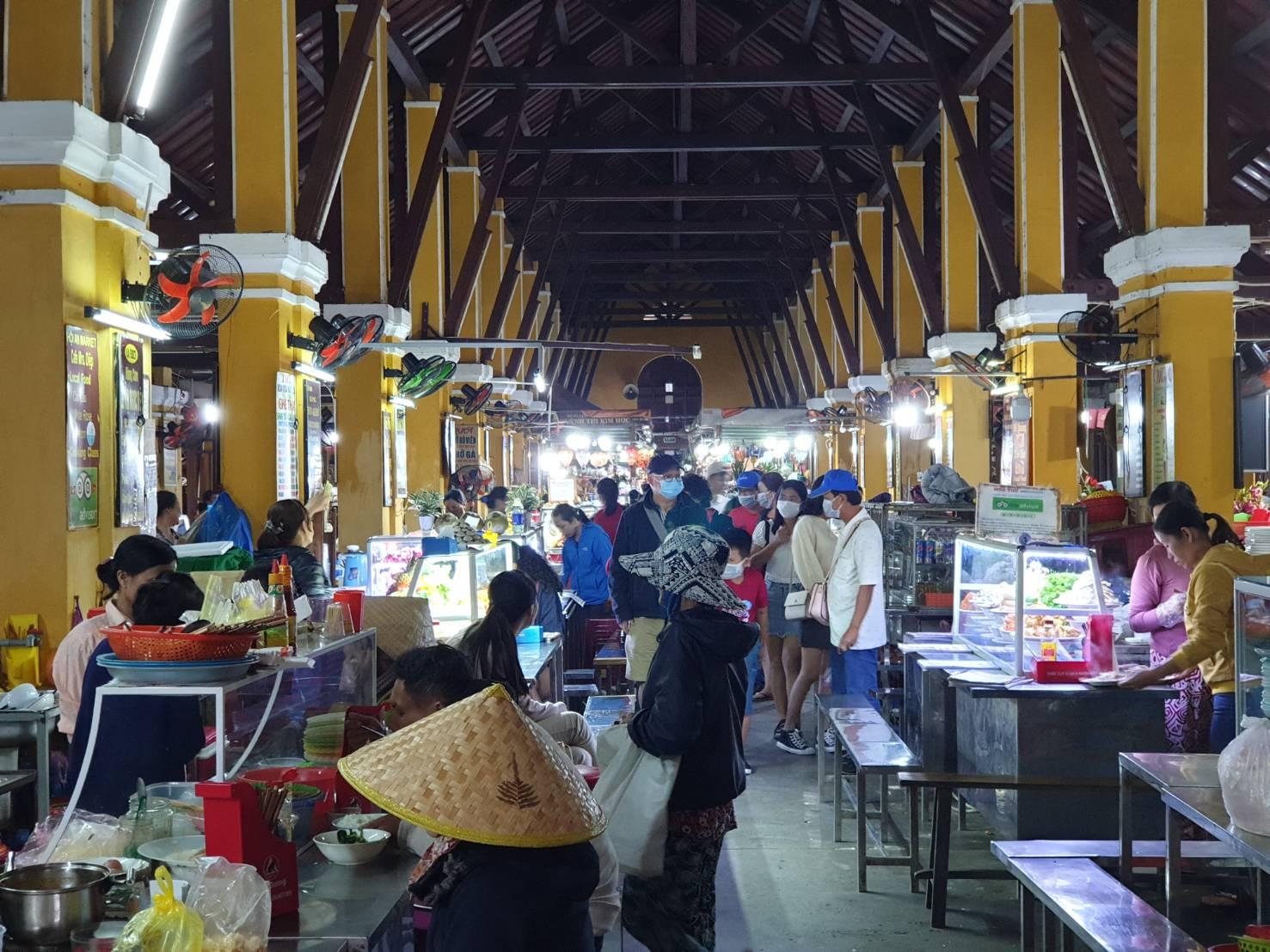 會安古鎮菜市場