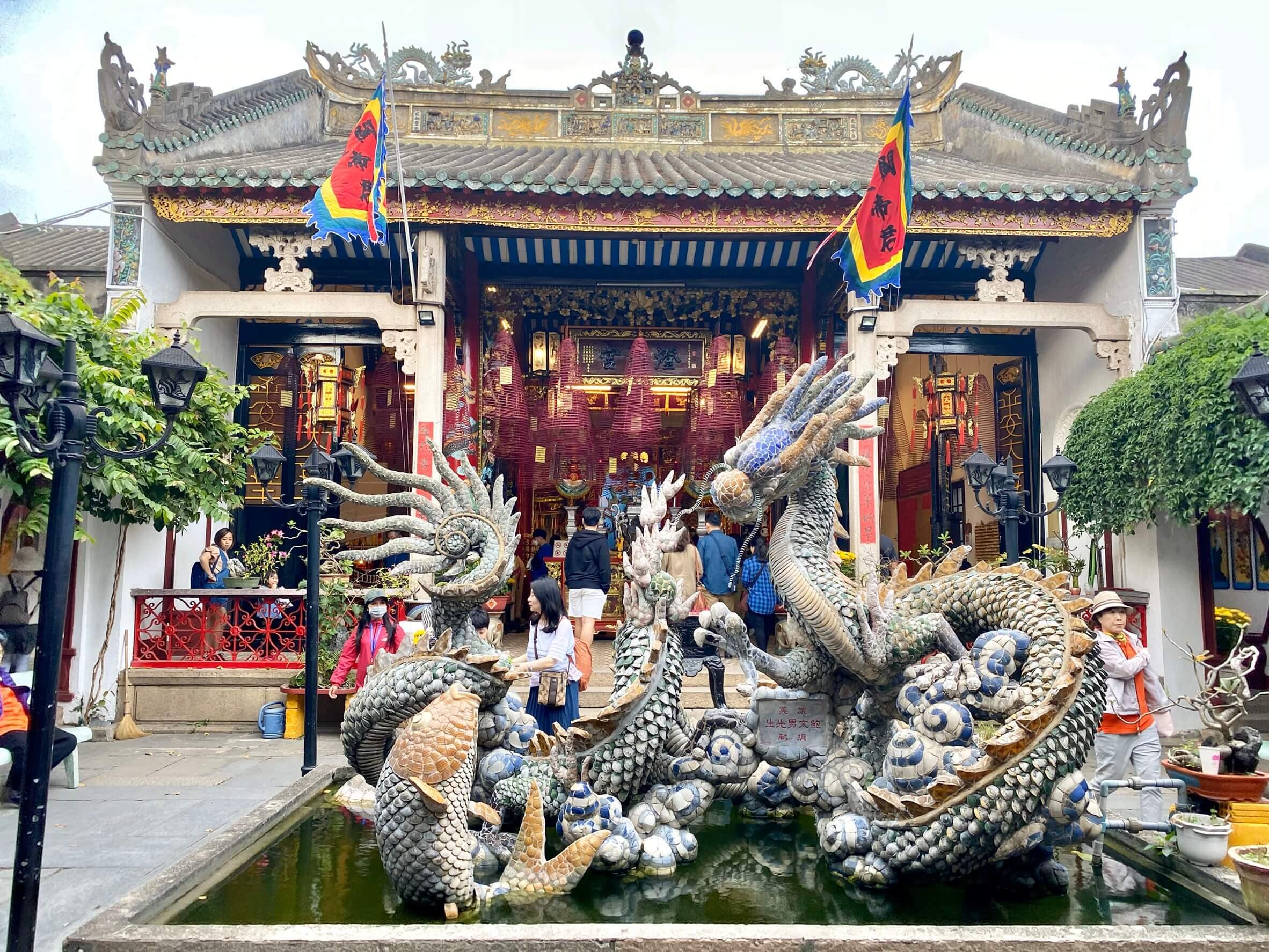 會安古鎮寺廟