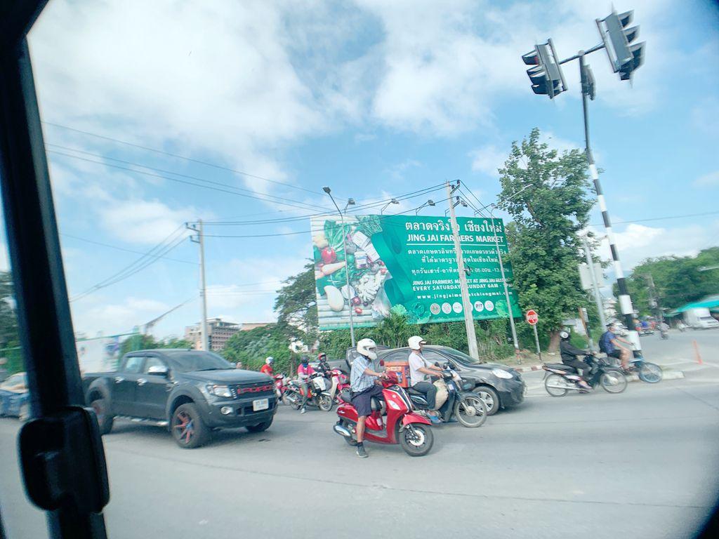 泰國清邁jingjaimarket招牌-早上6點到下午1點