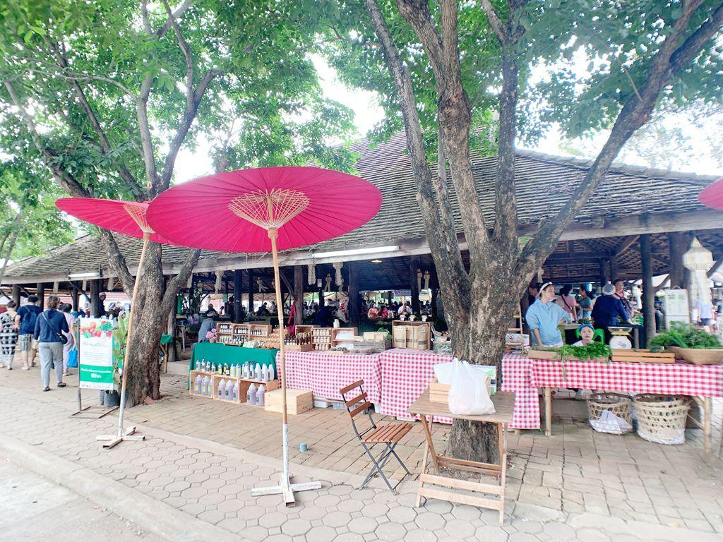 泰國清邁jingjaimarket農夫市集