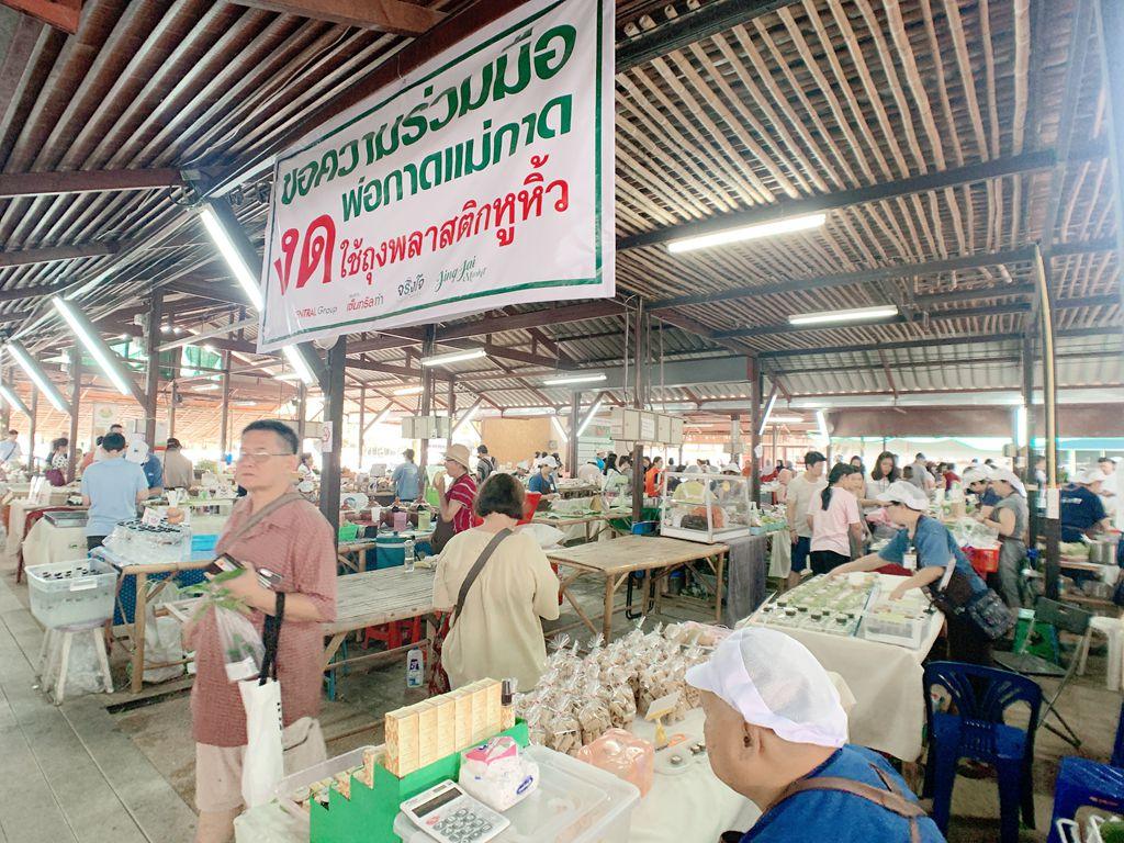 泰國清邁jingjaimarket農夫市集-泰式小點
