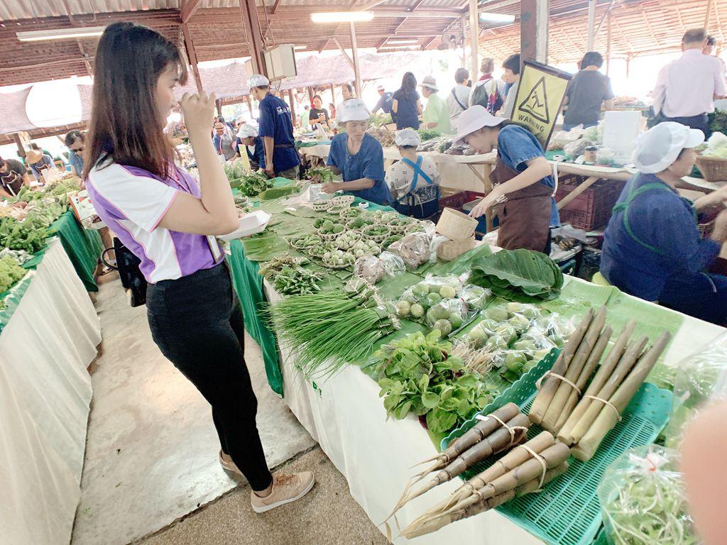 泰國清邁jingjaimarket農夫市集-蔬菜區