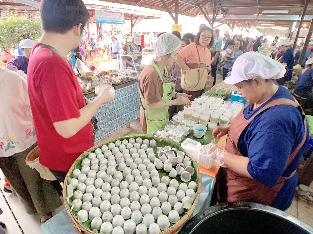 泰國清邁jingjaimarket泰式點心-泰式小點