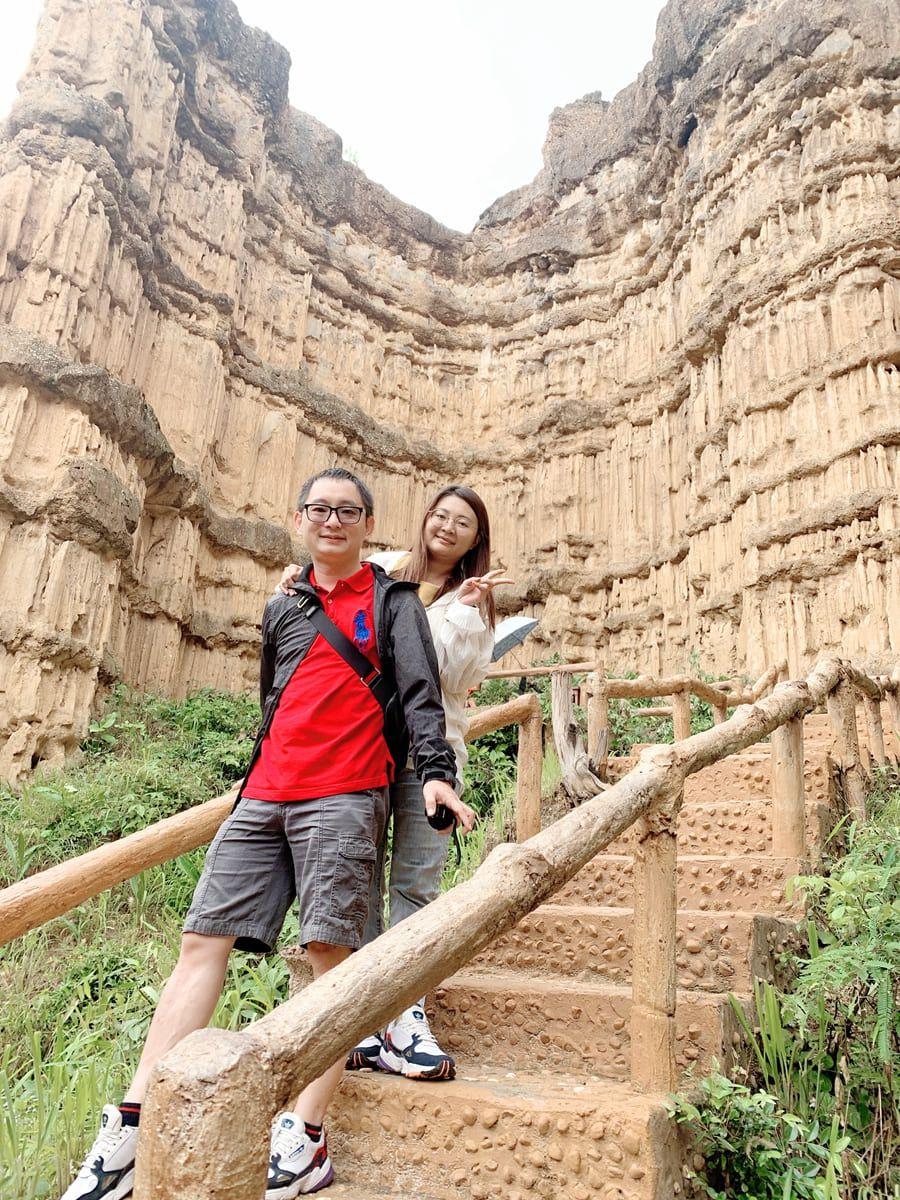 帕丘峽谷PhaChor-貌似澎湖玄武岩