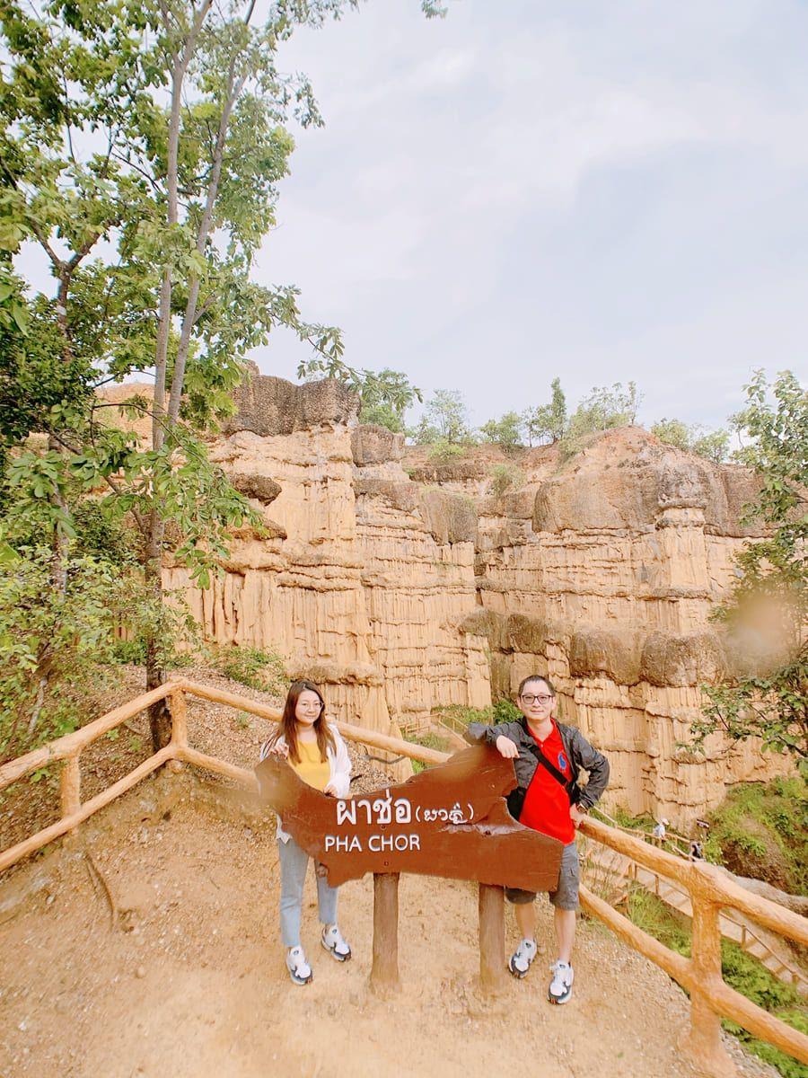 帕丘峽谷PhaChor-觀光客拍照啦