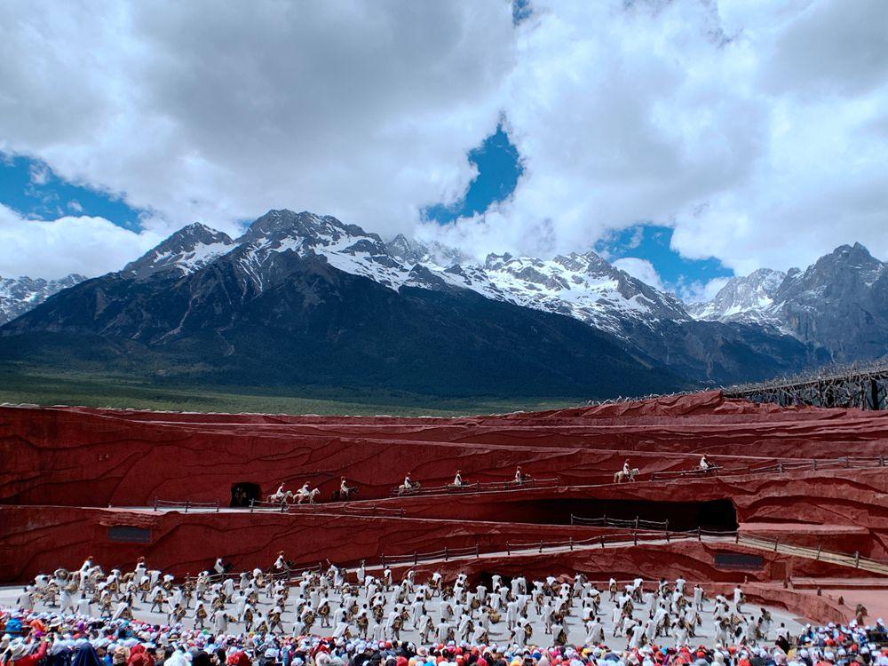印象麗江秀-對酒雪山