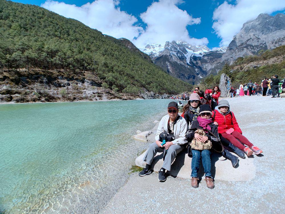 玉龍雪山-白水河