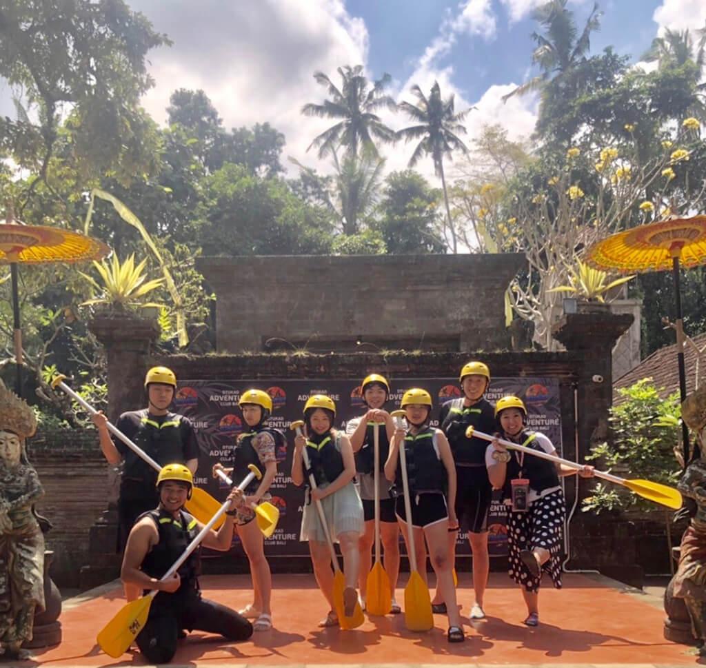 我們發現最多人喜愛的峇里島行程就是烏布泛舟體驗