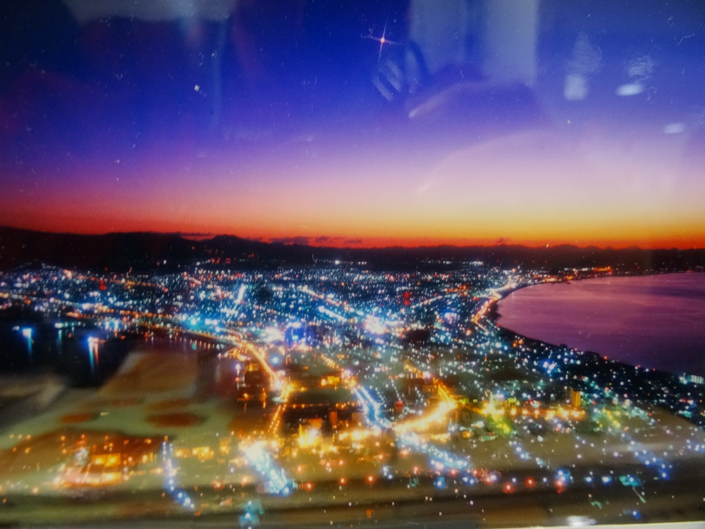 北海道旅遊:函館山夜景翻拍