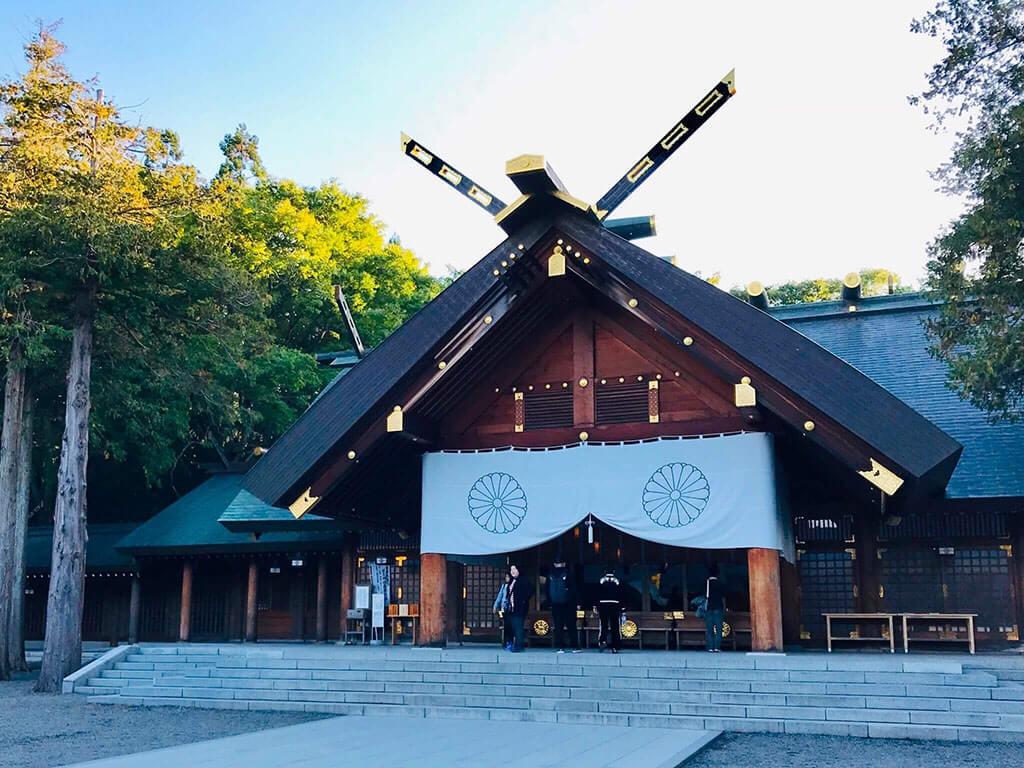 北海道神宮旅遊