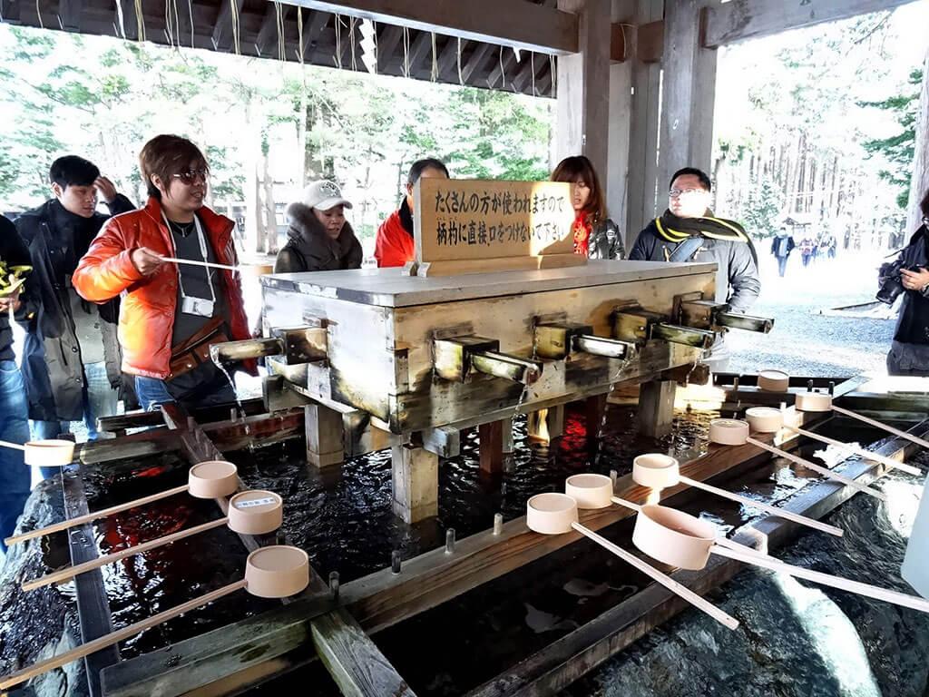 北海道神宮的參拜流程
