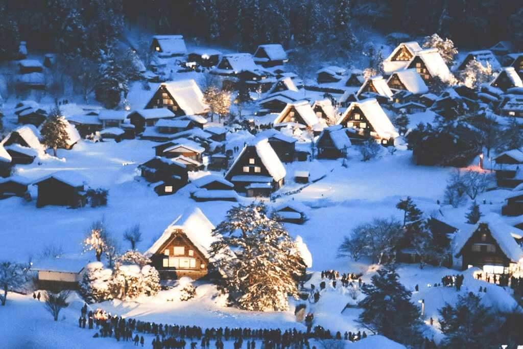 白川鄉合掌村 - 譽為童話村落的世界文化遺產
