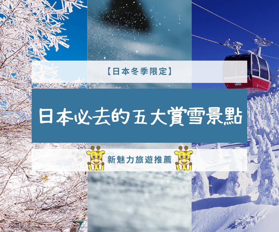【日本冬季限定定】2020日本必去的五大賞雪景點