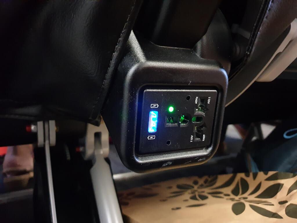 星悅航空USB充電插座