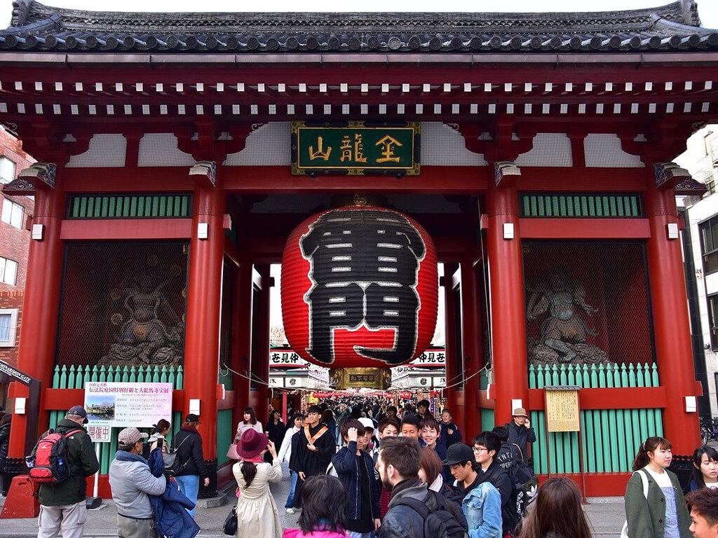 日本著名的神社參拜景點──雷門淺草觀音