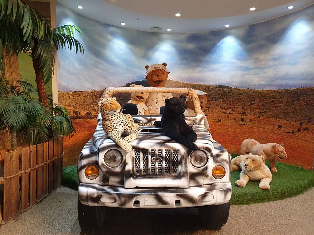 泰迪熊售票亭