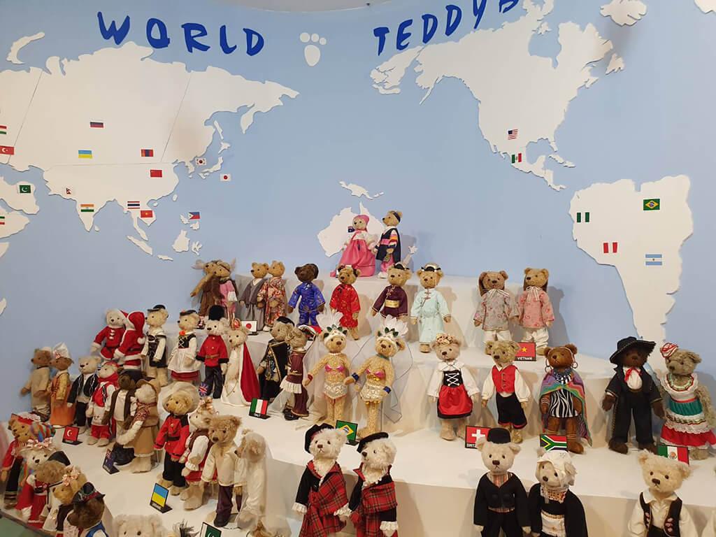 濟州島的泰迪熊博物館