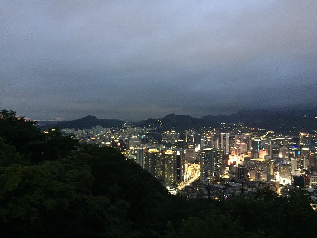 首爾美麗夜景