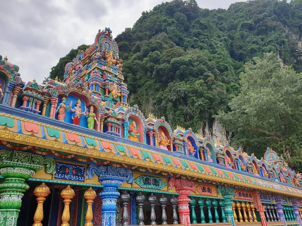 黑風洞位於馬來西亞吉隆坡,是印度教在印度外的著名朝聖景點