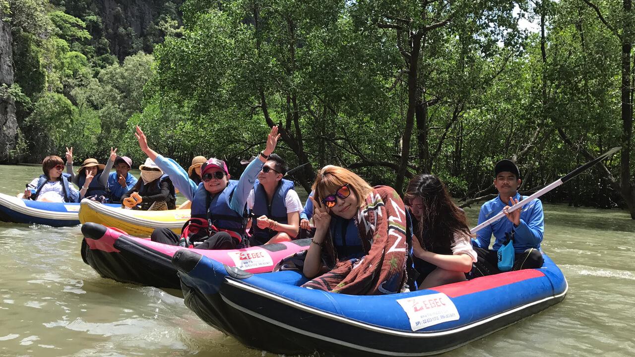 泰國海島旅遊:水上項目
