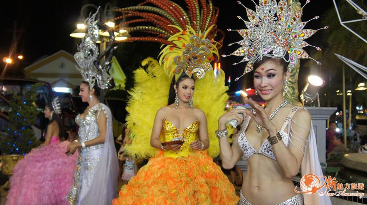 泰國海島旅遊:蒂芬妮人妖秀