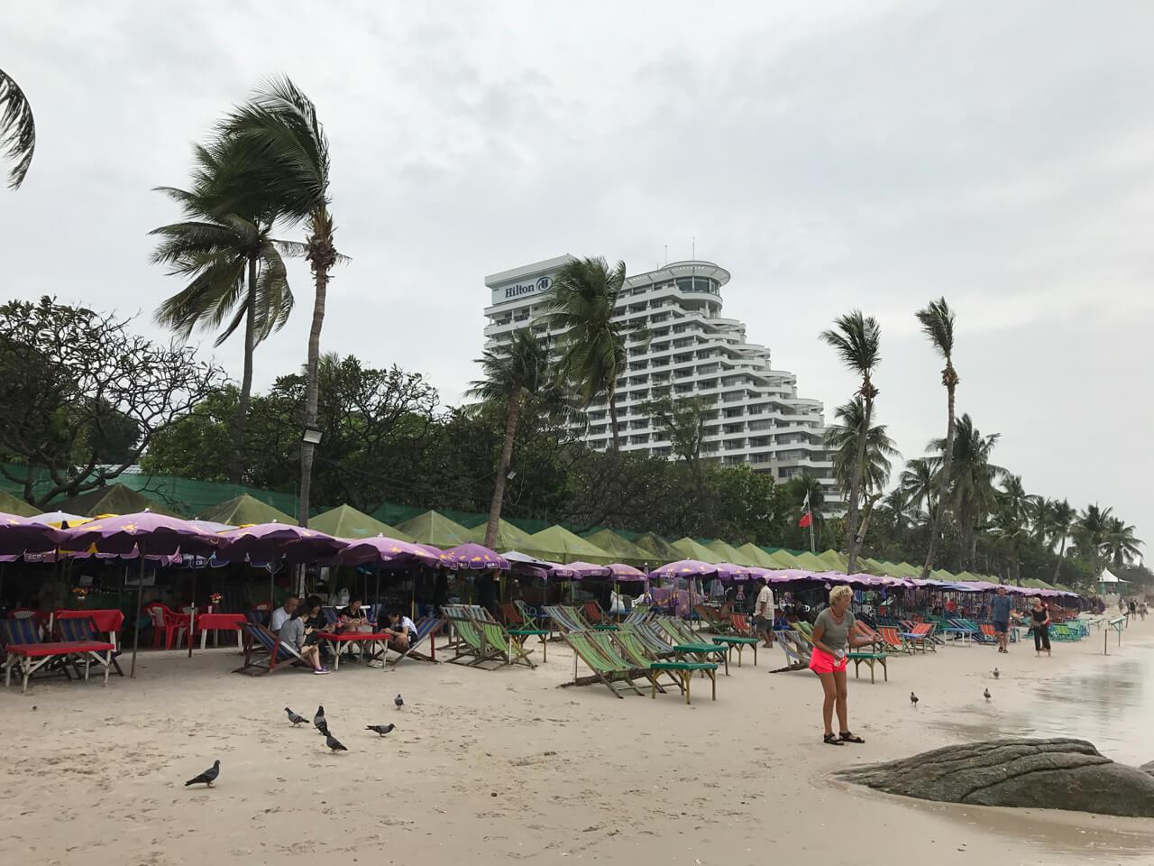 泰國海島旅遊:華欣沙灘