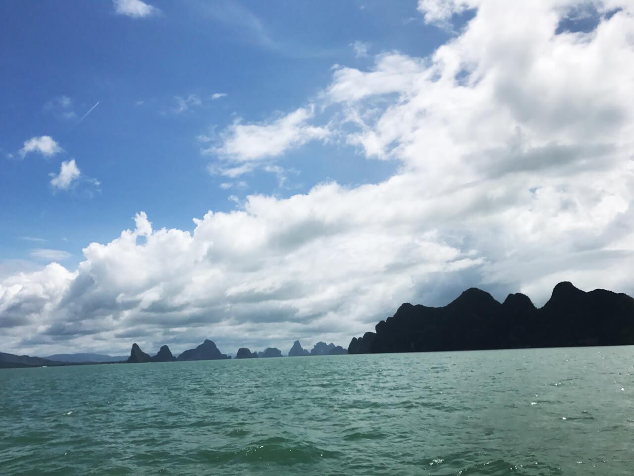 泰國海島旅遊:石灰岩峭壁