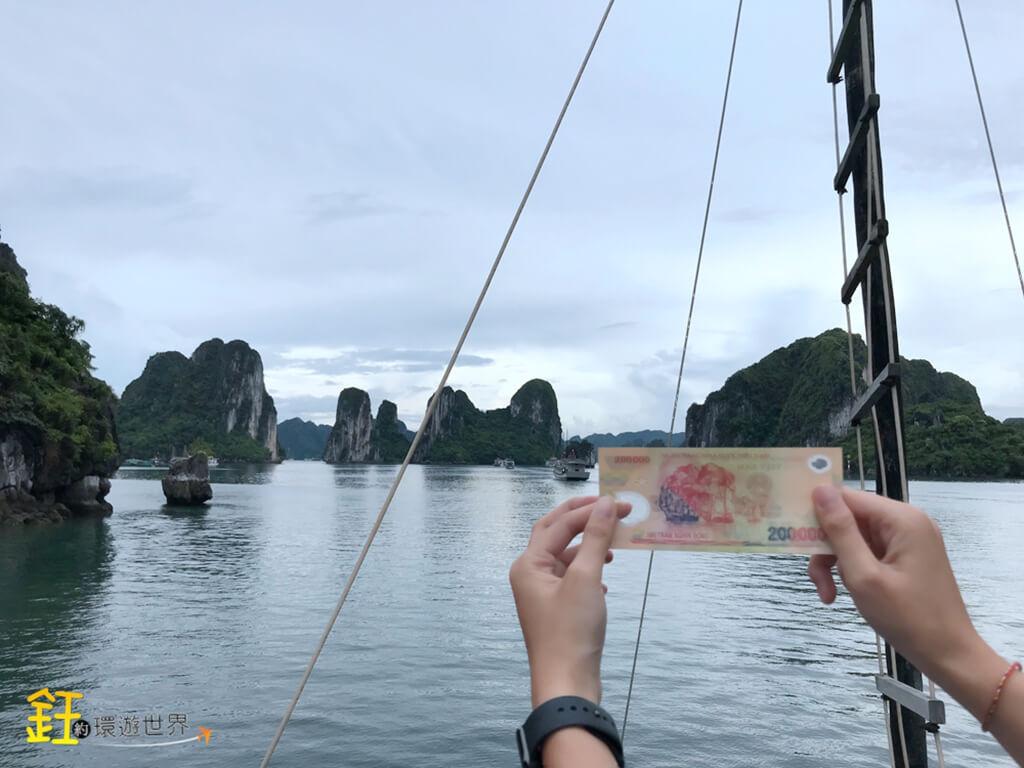 下龍灣遊船觀光